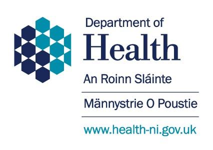 Dept for Health NI logo